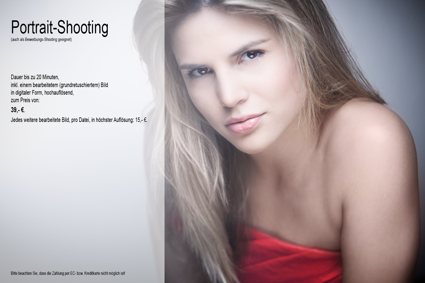 Portrait-Shooting-Angebot