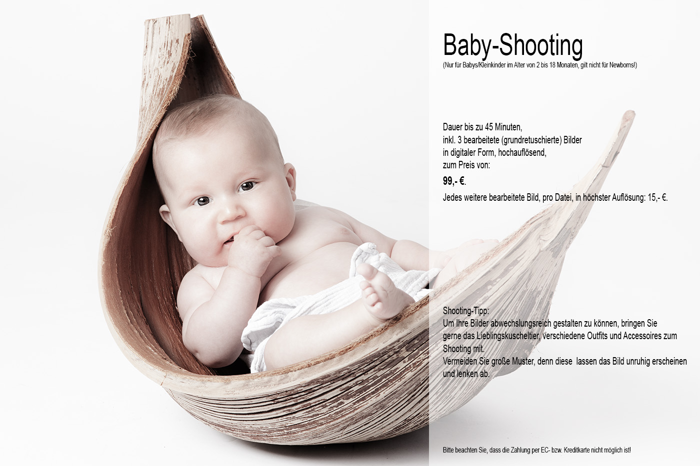 Baby-Shooting-Angebot
