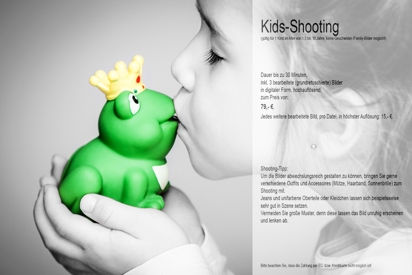 Kids-Shooting-Angebot